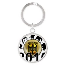Germany Football5 Round Keychain