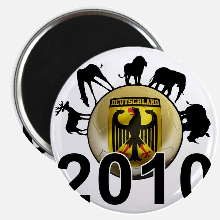 Germany Football5 Magnet
