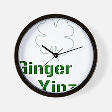 ginyin plain Wall Clock