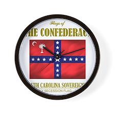 SC Sovereignty (Flag 3) Wall Clock