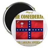 Rebel flags Magnets