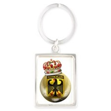 Germany Football7 Portrait Keychain