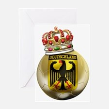 Germany Football7 Greeting Card