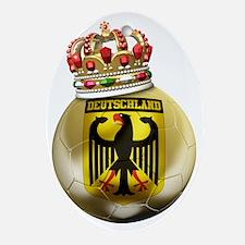 Germany Football7 Oval Ornament