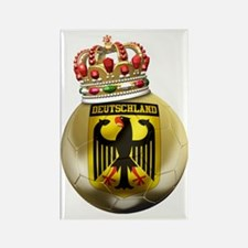 Germany Football7 Rectangle Magnet