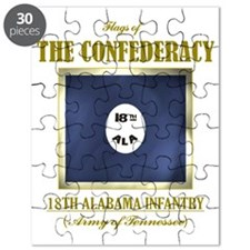18th Alabama Infantry (Flag 3) Puzzle