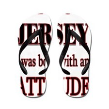 Jersey Attitude Flip Flops