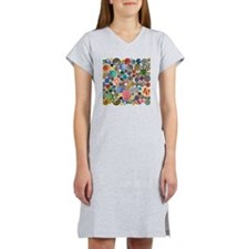 Buttons Square Women's Nightshirt