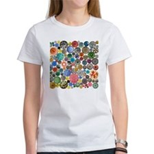 Buttons Square Tee
