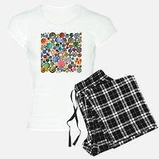 Buttons Square Pajamas