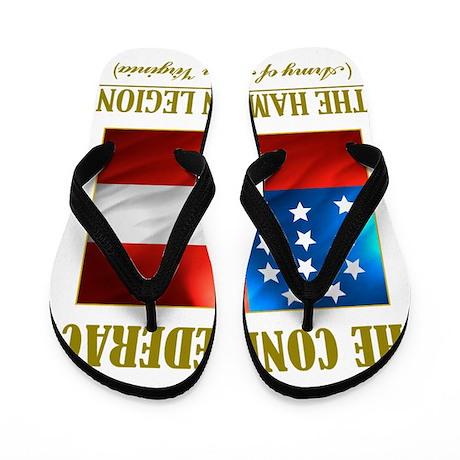The Hampton Legion (Flag 3) Flip Flops