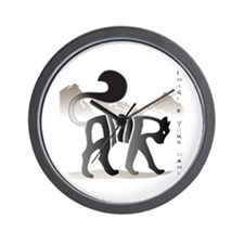 Amir black cat Wall Clock