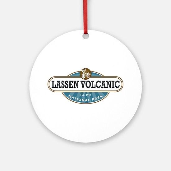 Lassen Volcanic National Park Ornament (Round)