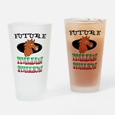 Future Italian Stallion Drinking Glass