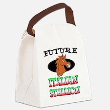 Future Italian Stallion Canvas Lunch Bag