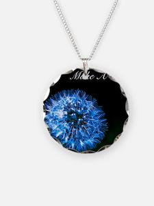 Biolumenescent Dandelion2 Necklace