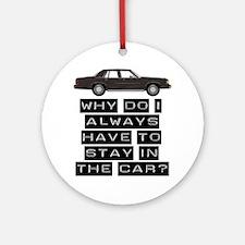 casey car 1 copy Round Ornament
