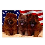 Proud Chow Puppies Postcards (Package of 8)