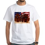 Proud Chow Puppies White T-Shirt