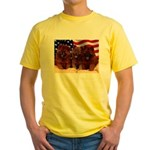 Proud Chow Puppies Yellow T-Shirt