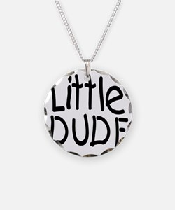 Little dude black Necklace