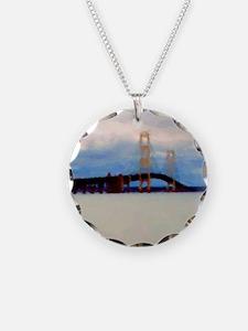 Mac Bridge Circle Necklace