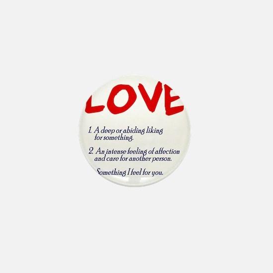 love01 Mini Button