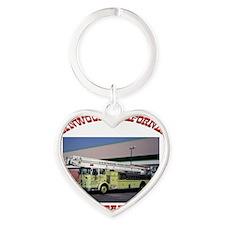 lynwoodfiredepartment Heart Keychain