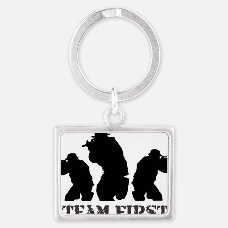 team first new1 Landscape Keychain