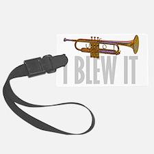 trumpetBlewItDark Luggage Tag
