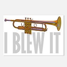 trumpetBlewItDark Postcards (Package of 8)