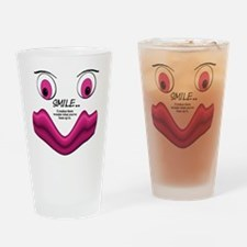 2-a-smile-a-day Drinking Glass