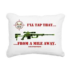 ILL TAP THAT Rectangular Canvas Pillow