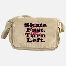 10x10apparel_skatefastturnleft Messenger Bag