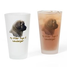 2-My Other Dog Drinking Glass