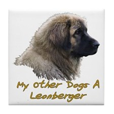 2-My Other Dog Tile Coaster