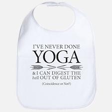 Yoga vs Gluten Bib