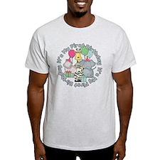 baby zoo buddies birthday T-Shirt