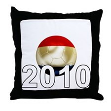 Netherlands Football2Bk Throw Pillow