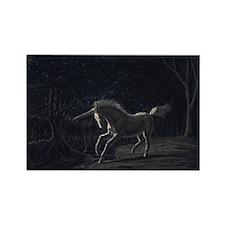 Unicorn-11.5x9_print Rectangle Magnet