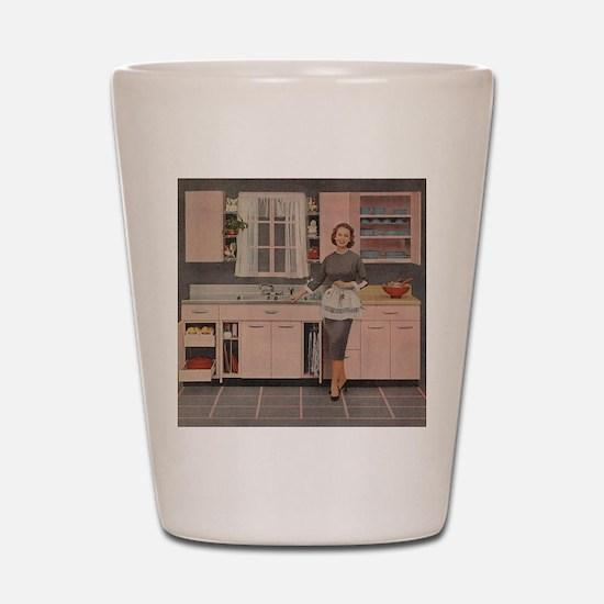 pinkkitch Shot Glass