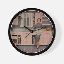 pinkkitch Wall Clock
