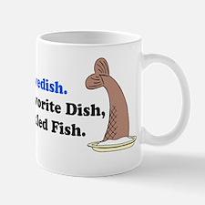 Swedish Pickled Fish Mug