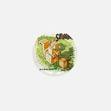 Squarrel Mini Button