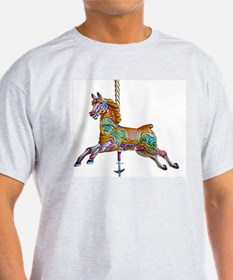 Galloping carousel horse T-Shirt