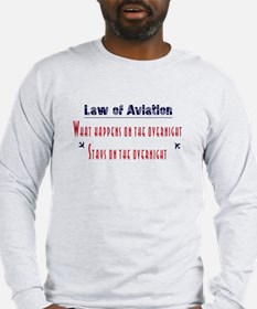 Aviation Law Long Sleeve T-Shirt