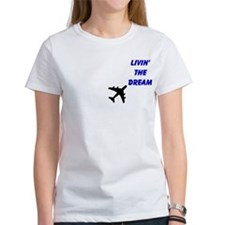 Living The Dream Tee BLUBLK