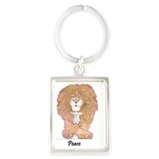 2-ll enlarged Portrait Keychain