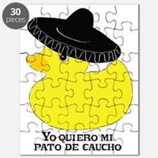 rubberducky_mexican_color_round Puzzle