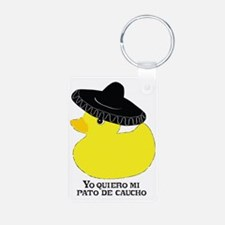 rubberducky_mexican_color_ Keychains